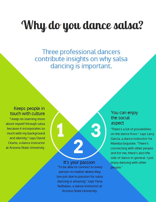 why do you dance salsa?