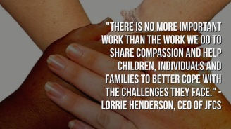 Lorrie Henderson on helping families face their challenges.