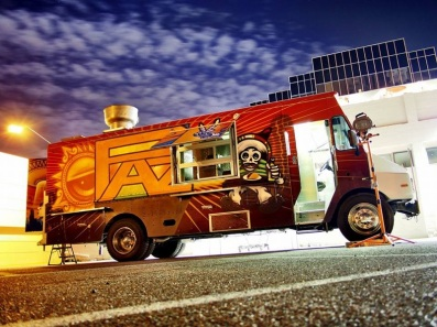 The Paz Cantina food truck owned and operated by Michael Reyes. (Photo by Michael Reyes)
